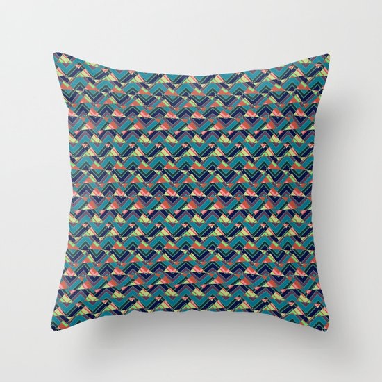 Cut It Out Throw Pillow by Lynsey Ledray Society6