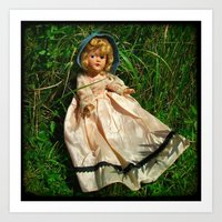 The Secret Garden II Art Print