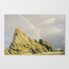 Chasing Rainbow Canvas Print
