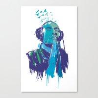 Music 4 Peace Canvas Print