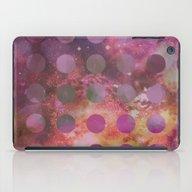 Galaxy In Purple iPad Case