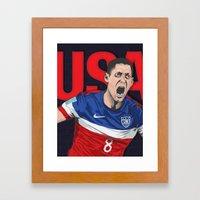 USA World Cup 2014 Framed Art Print