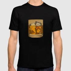 Scotch  SMALL Mens Fitted Tee Black
