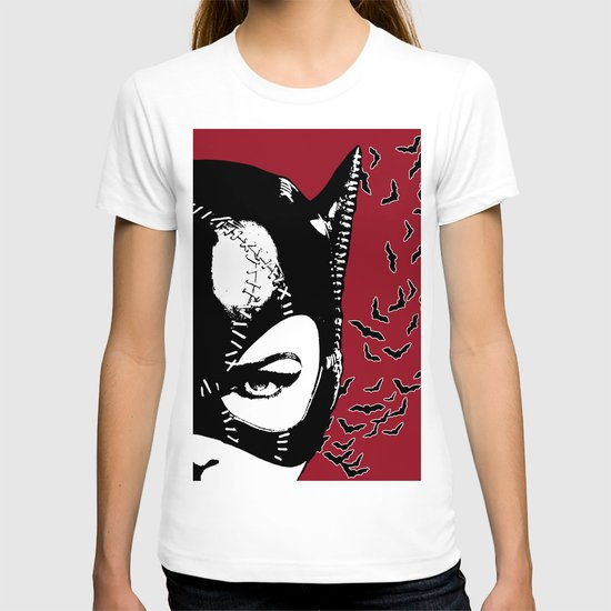 Red Catwoman T-shirt
