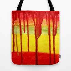 Bleed  Through Tote Bag