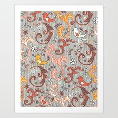 Fandango Art Print