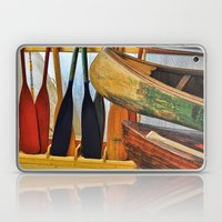 Oars and Canoes Laptop & iPad Skin