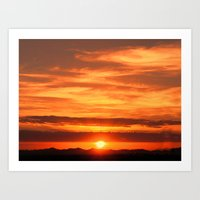 Jeddah Sunrise Art Print