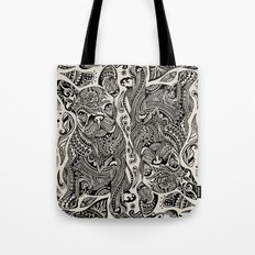 Polynesian  Frenchie Tote Bag