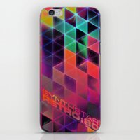 synthstar retro:80 iPhone & iPod Skin