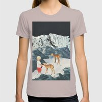 Starry Night Womens Fitted Tee Cinder SMALL