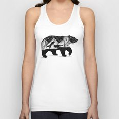 THE BEAR AND THE FOXES Unisex Tank Top