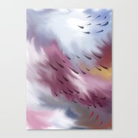 Tears And Clouds Canvas Print