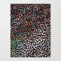 Shallcrass Coloured Pattern Canvas Print