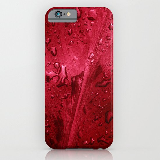 red passion II iPhone & iPod Case