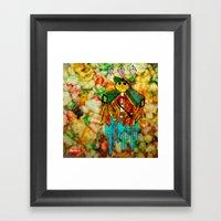 Calavera Dulce Framed Art Print