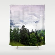mountain view i. Shower Curtain