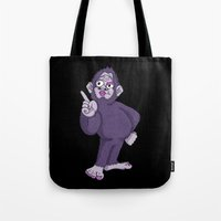 Sassy Squatch Tote Bag