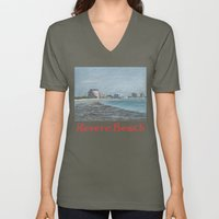 Revere Beach 1 Unisex V-Neck