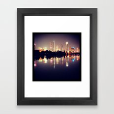 ATX Skyline Framed Art Print