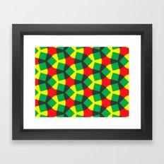 Terheijden Pattern Framed Art Print