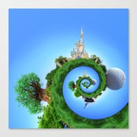 WDW Icons Canvas Print