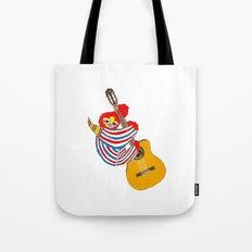 Bowie Sloth Vintage Guitar Tote Bag