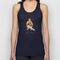By The Power Of 8-Bit Unisex Tank Top