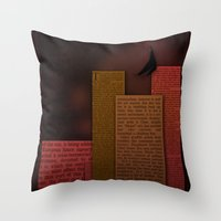 PAPER HEROES - Gotham Throw Pillow