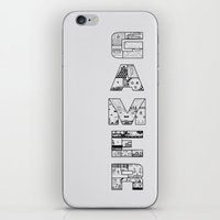 Gamer 2 iPhone & iPod Skin
