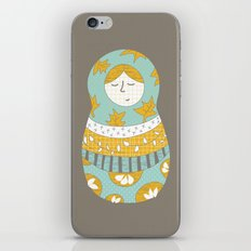 Autumnish mamushkas iPhone & iPod Skin