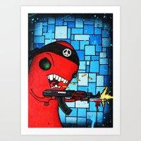 Rebel II Art Print