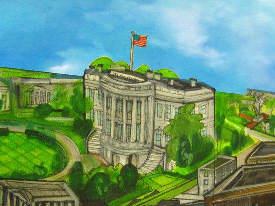 The White House - DC 2011 Art Print