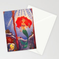 The Little Mermaid Stationery Cards