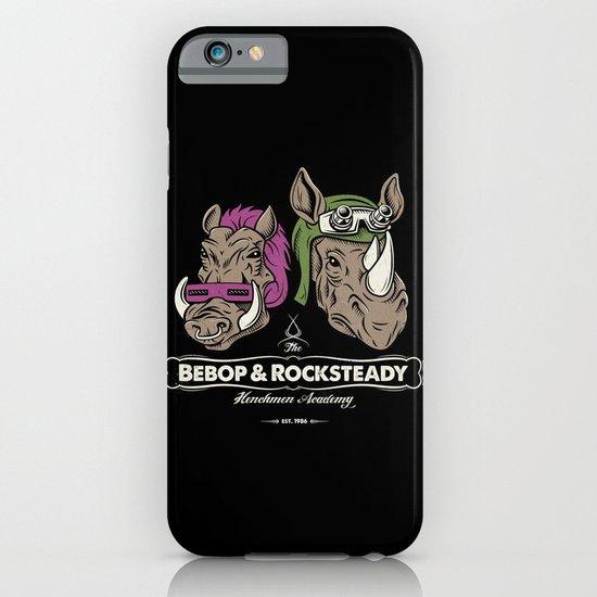 Bebop & Rocksteady Henchmen Academy  iPhone & iPod Case
