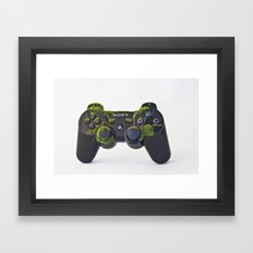 after We've Gone. Controller Uno Framed Art Print