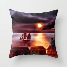 A New World Throw Pillow