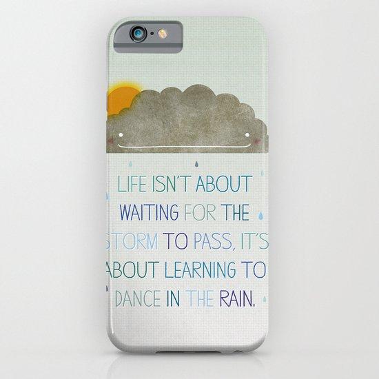 Dance in the Rain iPhone & iPod Case