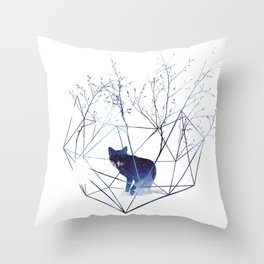 Throw Pillow - Organic prison - Robert Farkas