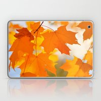 Yellow-orange Autumn Laptop & iPad Skin