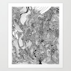 -Mind Art Print