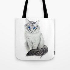 Ojos Azul Tote Bag