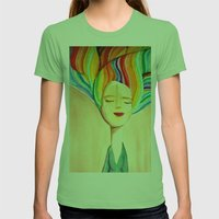 Grace Womens Fitted Tee Grass SMALL