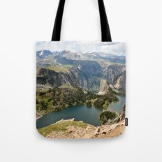 Beartooth Pass Lookout Tote Bag