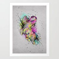 ELE'Paint Art Print
