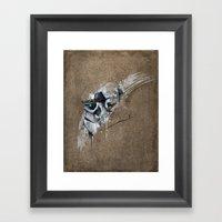 streaks series 1 Framed Art Print