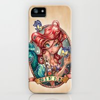 iPhone 5s & iPhone 5 Cases featuring SIREN by Tim Shumate