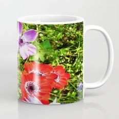 COLORED FLOWERS Mug