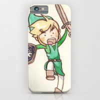 iPhone & iPod Case featuring Link by malipi