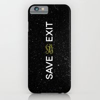 Save And Exit iPhone 6 Slim Case
